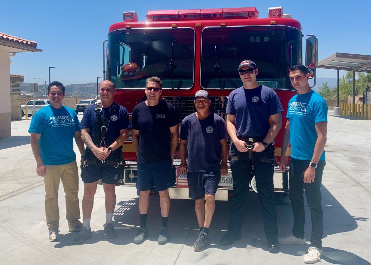 Passion Project L.A. welcomes Fire Station 104