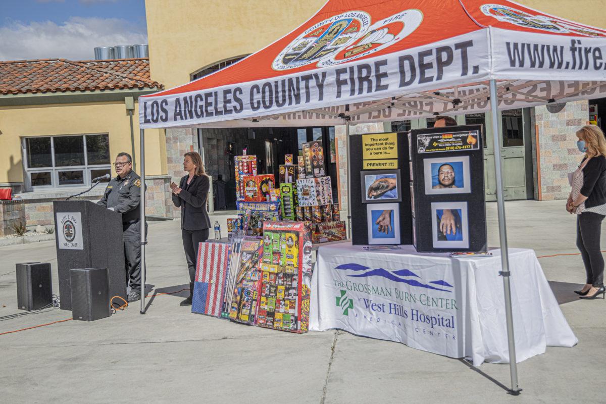 Officials highlight dangers of illegal fireworks