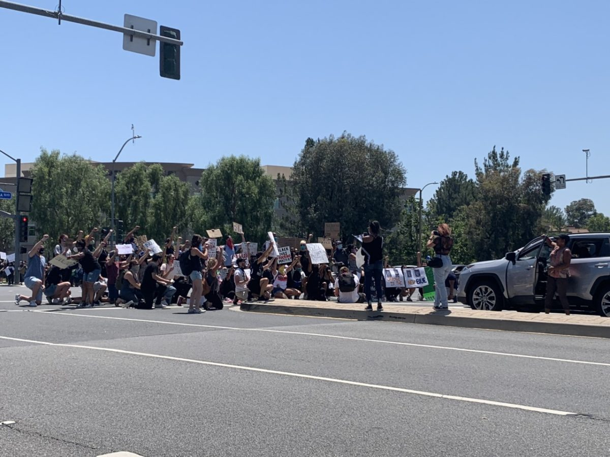 Protests under way in SCV; officers investigate 'suspicious device'