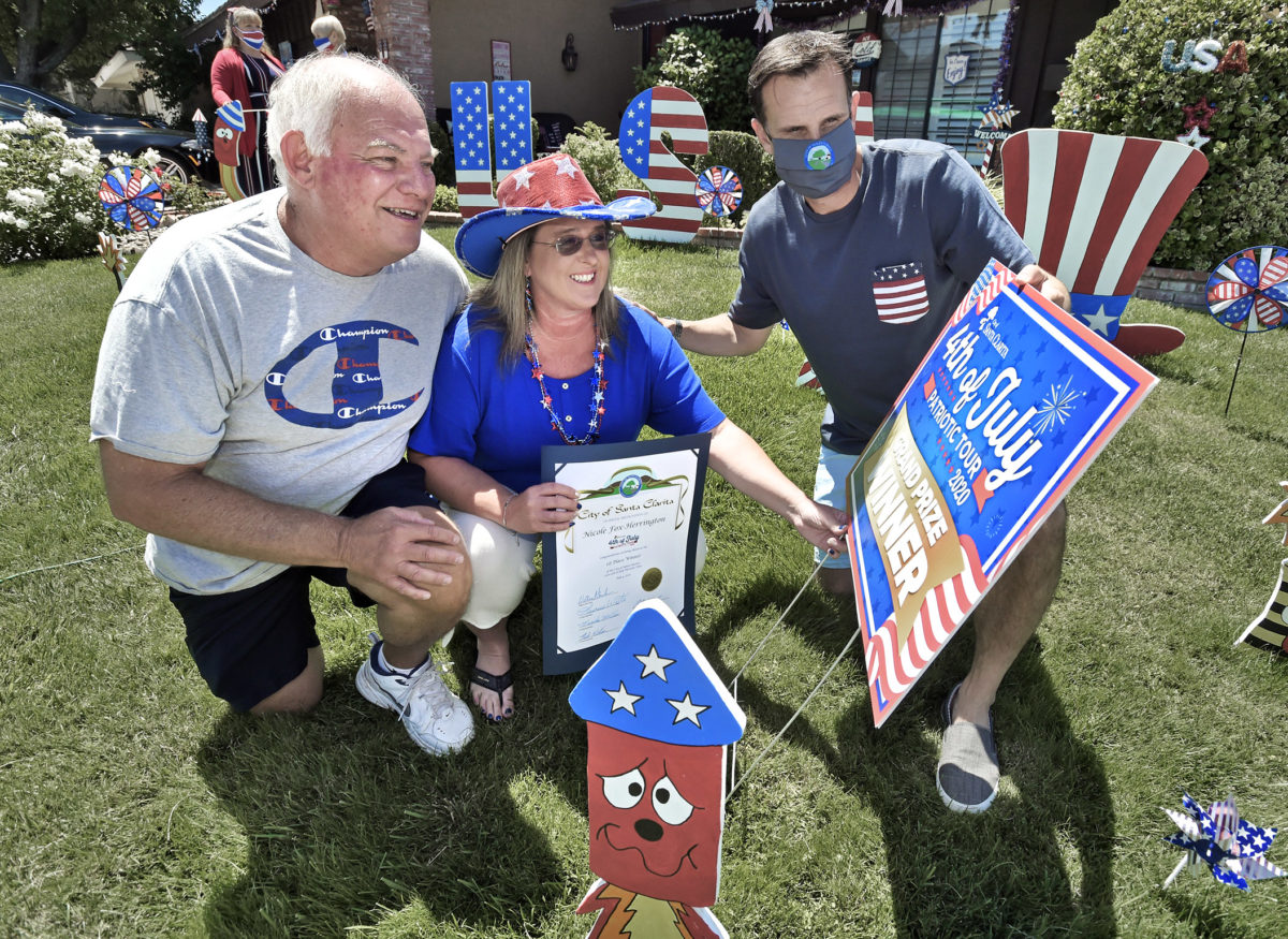 City Council visits winners of Fourth of July Patriotic Tour