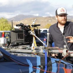 FILE PHOTO: Crews work on set of filming being done in the Santa Clarita Valley.