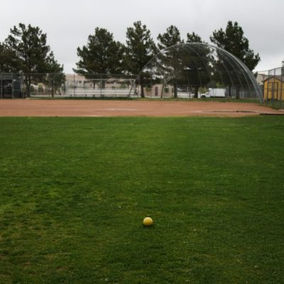 FILE PHOTO The Golden Valley softball field is empty the day after the William S. Hart School District announces the postponement of spring sports. Haley Sawyer/The Signal