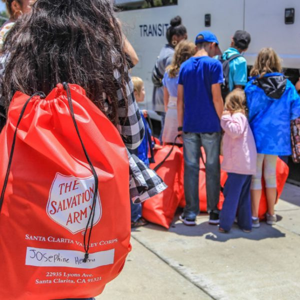 Salvation Army teams up with Walmart to 'Stuff the Bus.' Signal File Photo