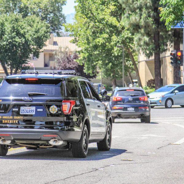 SIGNAL FILE PHOTO: A deputy patrols in the Santa Clarita Valley. Lorena Mejia / The Signal.