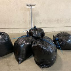 CHP officers reported finding 100 pounds of marijuana in an SUV on Thursday.